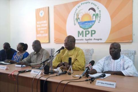Présidentielle 2015: Le congrès d'investiture du candidat du MPP aura lieu du 3 au 5 juillet 2015