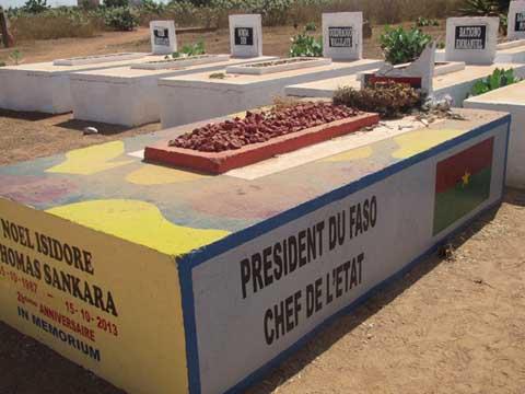 Cimetière de Dagnoën: Les restes présumés de Thomas Sankara ont été exhumés
