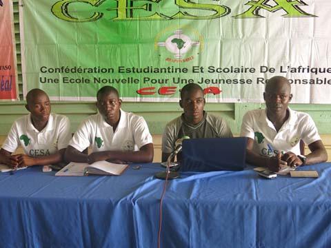 Confédération estudiantine et scolaire: La FESCI-BF fait le point de l'Assemble générale constitutive