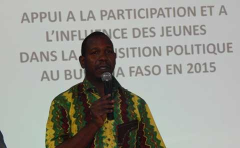 Réformes dans un Burkina post-insurrection: L'IGD veut inciter  la participation des jeunes