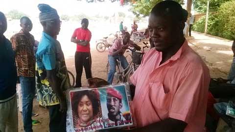 Cimetières de Dagnoën: «Même mort, Thomas Sankara vaut mieux que certains Présidents vivants»