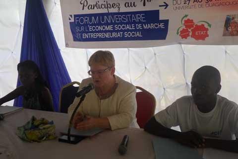 Forum JCI Universitaire Ouaga étoile: Mieux outiller les étudiants sur l'économie sociale de marché et la cohésion sociale