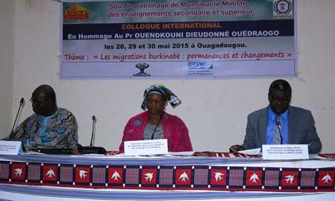 L'Institut supérieur des sciences de la population: la salle de conférence baptisée «Pr OuendKuni Dieudonné Ouédraogo»