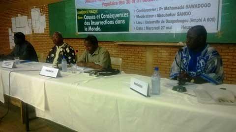 Journée d'Hommage aux Martyrs: le Pr Mahamadé Sawadogo parle des causes et conséquences des insurrections dans le monde