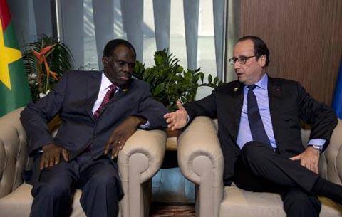 Le Président du Faso se rend à Paris pour une visite de travail