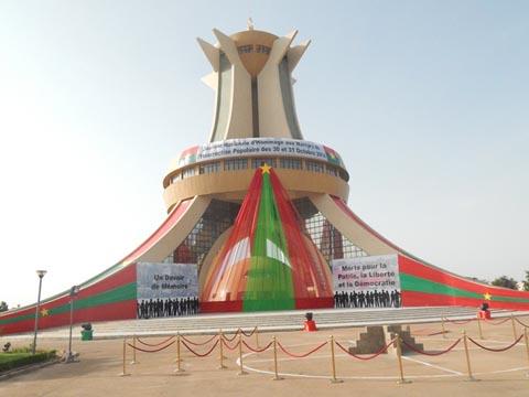 Insurrection populaire: 28 martyrs désormais au panthéon de l'Histoire du Burkina