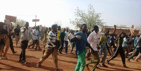 Manifestation des populations de Namissiguima: 7 blessés et 15 personnes interpellées