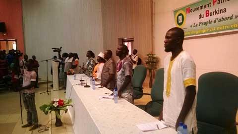 Vie politique nationale: Des  ''désillusionnés'' de Le Faso Autrement, migrent au MPB