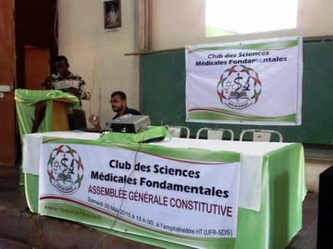 Médecine: Un Club des Sciences médicales fondamentales  voit le jour à l'Université de Ouagadougou