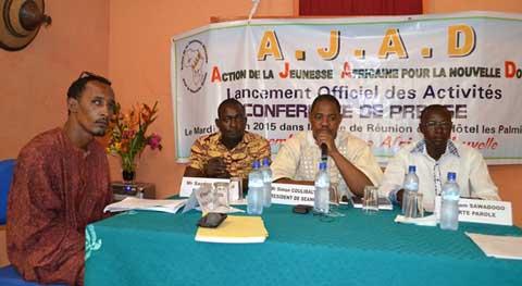 Societé civile: l'AJAD veut rendre l'Afrique aux Africains