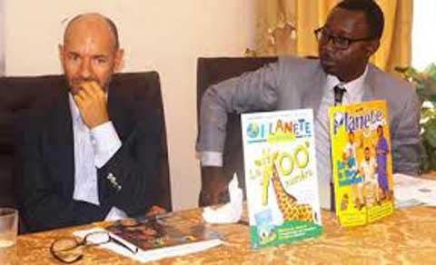 Lionel Bilgo, directeur de Planète Enfant: «C'est un magazine d'éducation et d'apprentissage de la lecture»