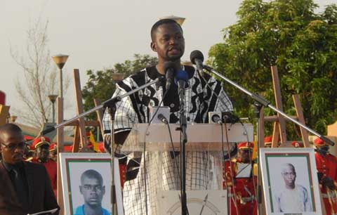 Journée d'hommage aux martyrs de l'insurrection: Les photos des martyrs à l'Assemblée pour parler au législateur?