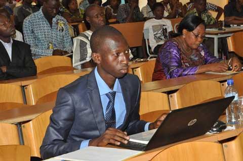 Soutenances à l'ENAM: Bassirou Sawadogo passe au scanner les élections couplées de 2012