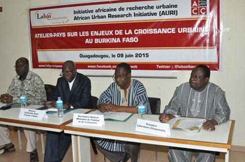 Réflexion à Ouaga sur la problématique de l'urbanisation de nos villes