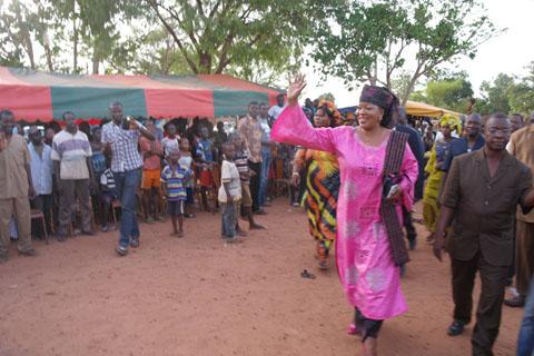 Le PDC dans l'arrondissement 07 de Bobo Dioulasso: Saran Sérémé a communié avec ses militants