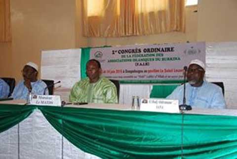 Premier congrès de la FAIB: Sous le signe de la fraternité et de la cohésion