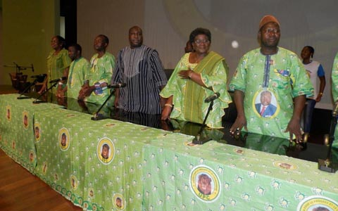 UPC: Zéphirin Diabré a terminé sa tournée en grande pompe à Bobo-Dioulasso