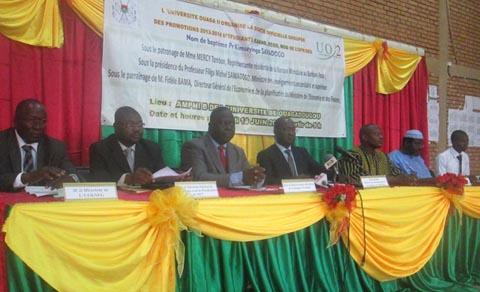 Université Ouaga II: 536 compétences sur le marché de l'emploi