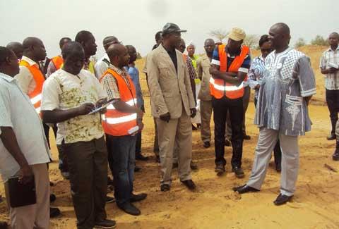 Bitumage de la route Ouahigouya- frontière du Mali: La fin des travaux prévue pour Octobre 2015