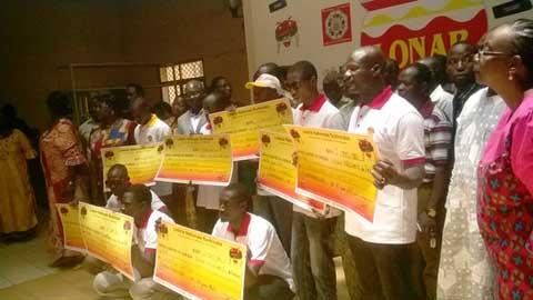 Tranche commune entente 2015: Dix heureux gagnants pour le Burkina!