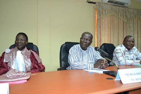 Université de Ouagadougou: le Pr Rabiou Cissé prend les rênes de la présidence