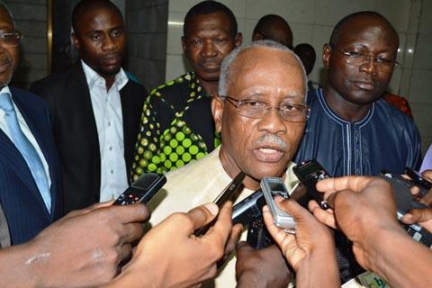 Situation nationale: «Il n'y a pas de quoi s'inquiéter», selon une délégation de la CEDEAO au CDP