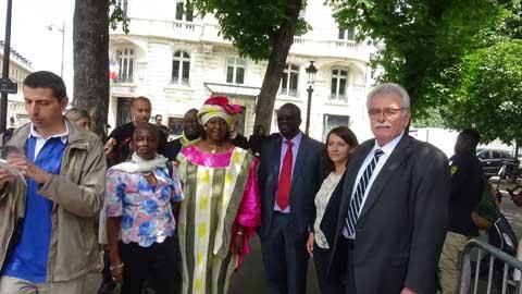Le séjour très politique de Maître Sankara en France