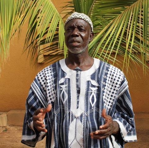 """François Traoré, ex- Président de l'Union nationale des producteurs de coton du Burkina: """"Ce que je pense de la culture des OGM au Burkina Faso!"""""""