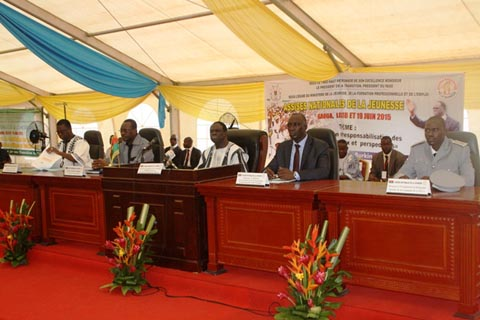 Assises nationales de la jeunesse: Les hommes d'affaires ont promis 2000 emplois aux jeunes