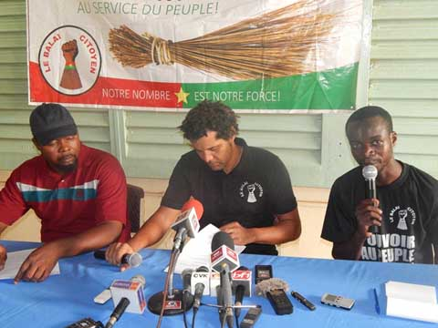 Le Balai citoyen exige de nouveau la dissolution du RSP