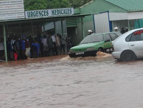 Grande pluie à Ouaga: Un mort à Bissighin, plusieurs quartiers inondés