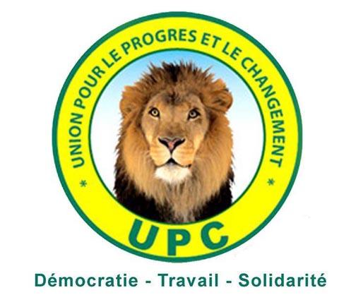 Invitation à l'investiture du candidat de l'UPC à l'élection présidentielle