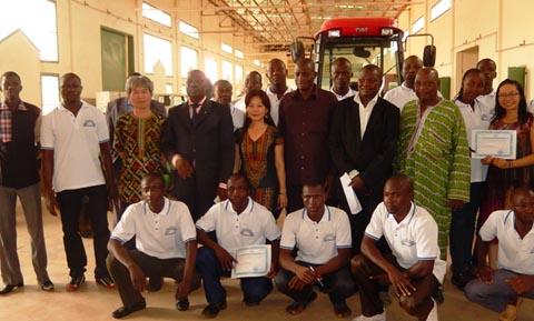 Centre agricole polyvalent de Matourkou: 37 nouveaux diplômés prêts à servir