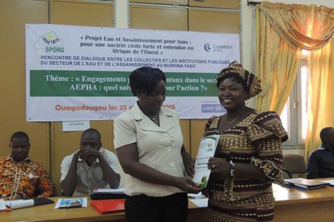 Eau et assainissement au Burkina Faso: Les OSC demandent à l'état au moins 10% du budget national pour le secteur