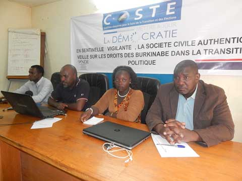 Débat sur la nouvelle Constitution: La COSTE préconise la tenue d'une «conférence politique et sociale»