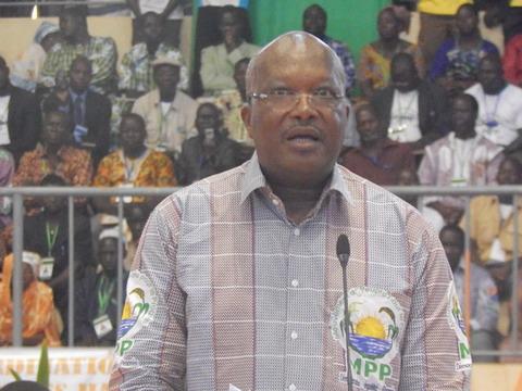 Ouverture du congrès d'investiture du candidat du MPP: Roch Kaboré appelle les parties prenantes de la crise entre le RSP et le Premier ministre Zida à la retenue et à la sagesse