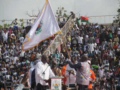 Présidentielle 2015: C'est Roch Marc Christian Kaboré qui défendra les couleurs du MPP