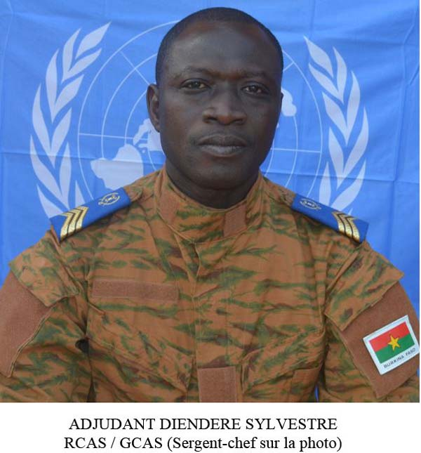 Photos des militaires burkinabè tués au Mali
