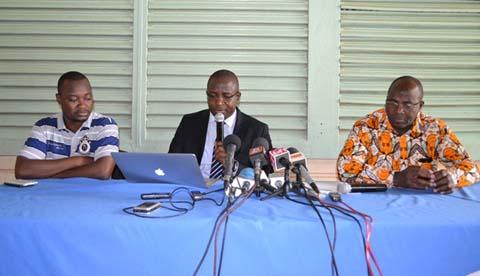 Situation nationale: La coalition des OSC annonce une série d'actions pour soutenir la transition