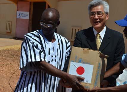 Sécurité alimentaire et nutritionnelle: Le Japon offre 1 341 tonnes de vivres au PAM