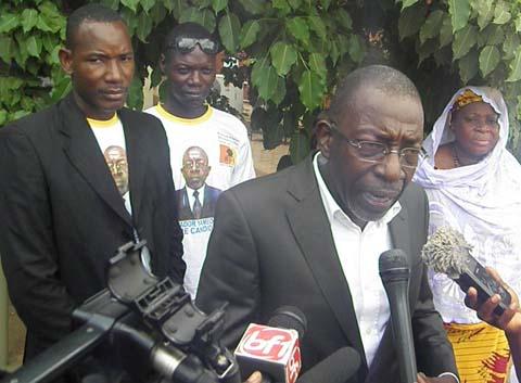 Présidentielle 2015: Salvador Yaméogo candidat du RDF