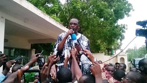 Situation nationale: «Il y a malheureusement des Burkinabè qui n'ont même pas la mémoire», dixit Isaac Yacouba Zida