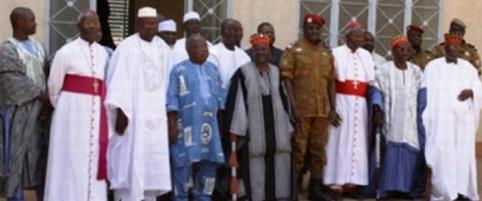 Situation nationale: Voici les membres du cadre de concertation de sages