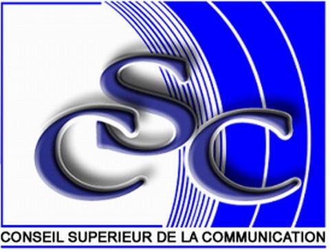 Médiatisation des campagnes électorales déguisées: Le CSC félicite les médias pour le respect de la règlementation