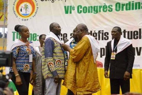 Eddie Komboïgo: Candidat par défaut du CDP?