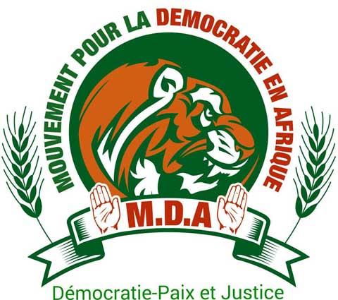 Mouvement pour la démocratie en Afrique:                          appel à candidature aux élections législatives du 11 octobre 2015