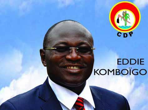 Eddie KOMBOIGO, le candidat de l'avenir du Burkina