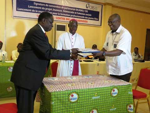 Développement humain intégral: L'OCADES et CRS Burkina renouvellent leur partenariat