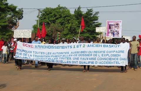Explosion à Larlé: Un an après, les victimes interpellent le président Kafando