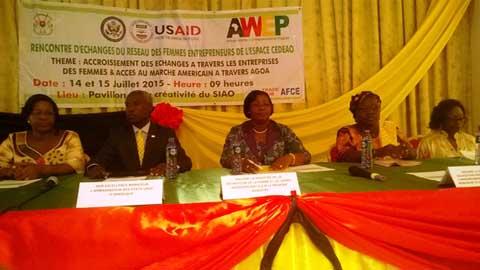 Entreprenariat  féminin: Le Burkina désormais dans le chapitre AWEP